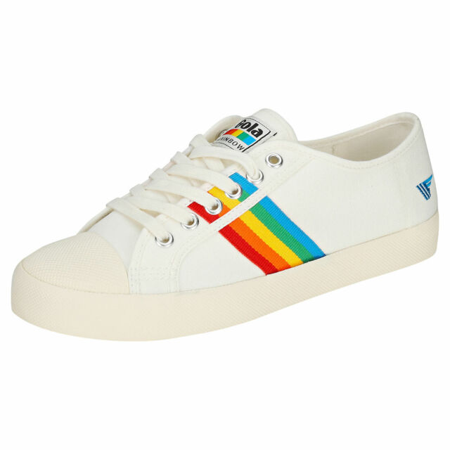 Gola Coaster Rainbow Womens Off White