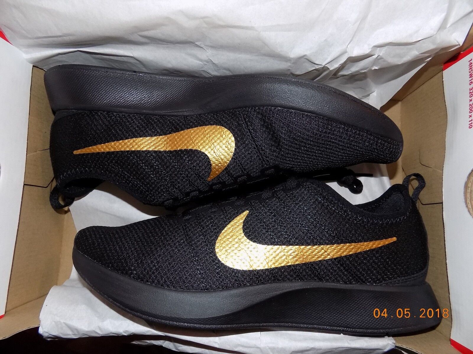 NIKE DUALTONE RACER BLACK/GOLD MEN NEW WITH BOX