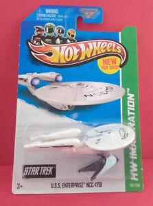 STAR-TREK-HOT-WHEELS-USS-ENTERPRISE-NCC-1701-LIMITED-WARRANTY-2012-REF-4202
