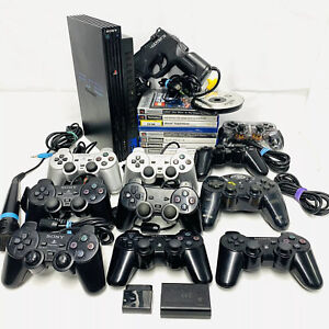 LOTTO-ODL-Sony-PlayStation-DualShock-3-amp-2-Controller-amp-Console-amp-12-GIOCHI-parti