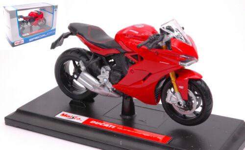 Ducati Supersport S 2017 Red 1:18 Model 17040 MAISTO