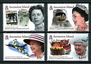 Ascension MiNr. 1285-88 postfrisch MNH Elizabeth II. (N978