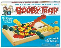 Ideal Booby Trap Classic Spring Action Game , New, Free Shipping on sale