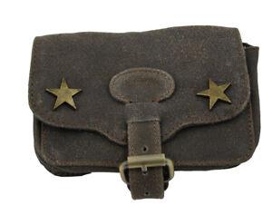 Gut Western Speicher Gürteltasche Rindsleder Tasche Braun Leder Antik Ws05 Buy One Give One Herren-accessoires Kleidung & Accessoires