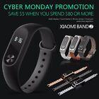 Original Xiaomi Mi Band 2 Smart Watch Bracelet Metal Genuine Leather Wristband
