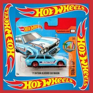 Hot-Wheels-2017-039-71-Datsun-Bluebird-510-Wagon-277-365-neu-amp-ovp