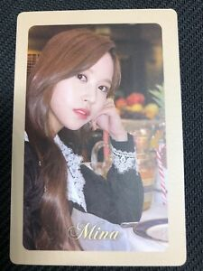 K-POP-TWICE-Mini-Album-034-The-Year-Of-Yes-034-Official-Mina-Photocard