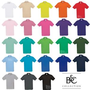 Section SpéCiale B&c Men's Polo Shirt 100% Coton Piqué Décontracté Chic Style Workwear S-3xl Couleurs-afficher Le Titre D'origine Lustre Brillant
