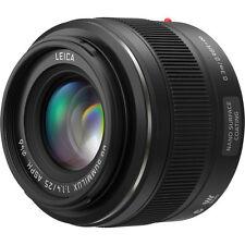 New Panasonic Leica DG Summilux 25mm f/1.4 ASPH. Lens (H-X025)