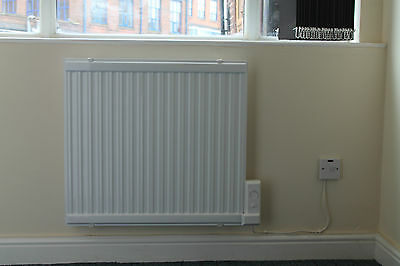 Wall Mounted Oil Filled Radiator >> 1500w Oil Filled Electric Radiator Heater Wall Mounted Or Portable Thermostat Ebay