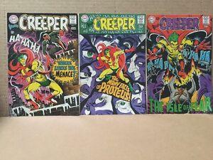 Beware the Creeper #1-6 Missing #4 Nice! Steve Ditko 1968-69 DC Comic