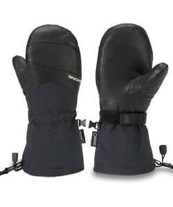 2019-NWT-WOMENS-DAKINE-CONTINENTAL-GORE-TEX-MITTS-S-Black-Snowboard-Gloves