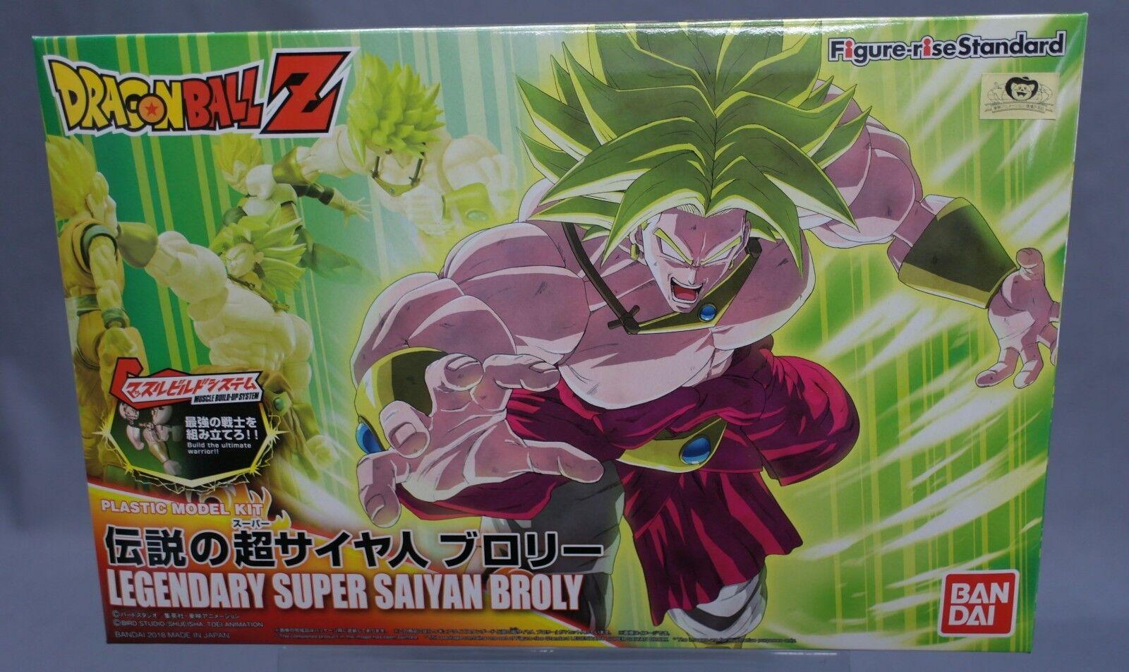 MG Figure-rise Standard Dragon Ball Z DBZ Super Saiyan Broly Model kit Bandai