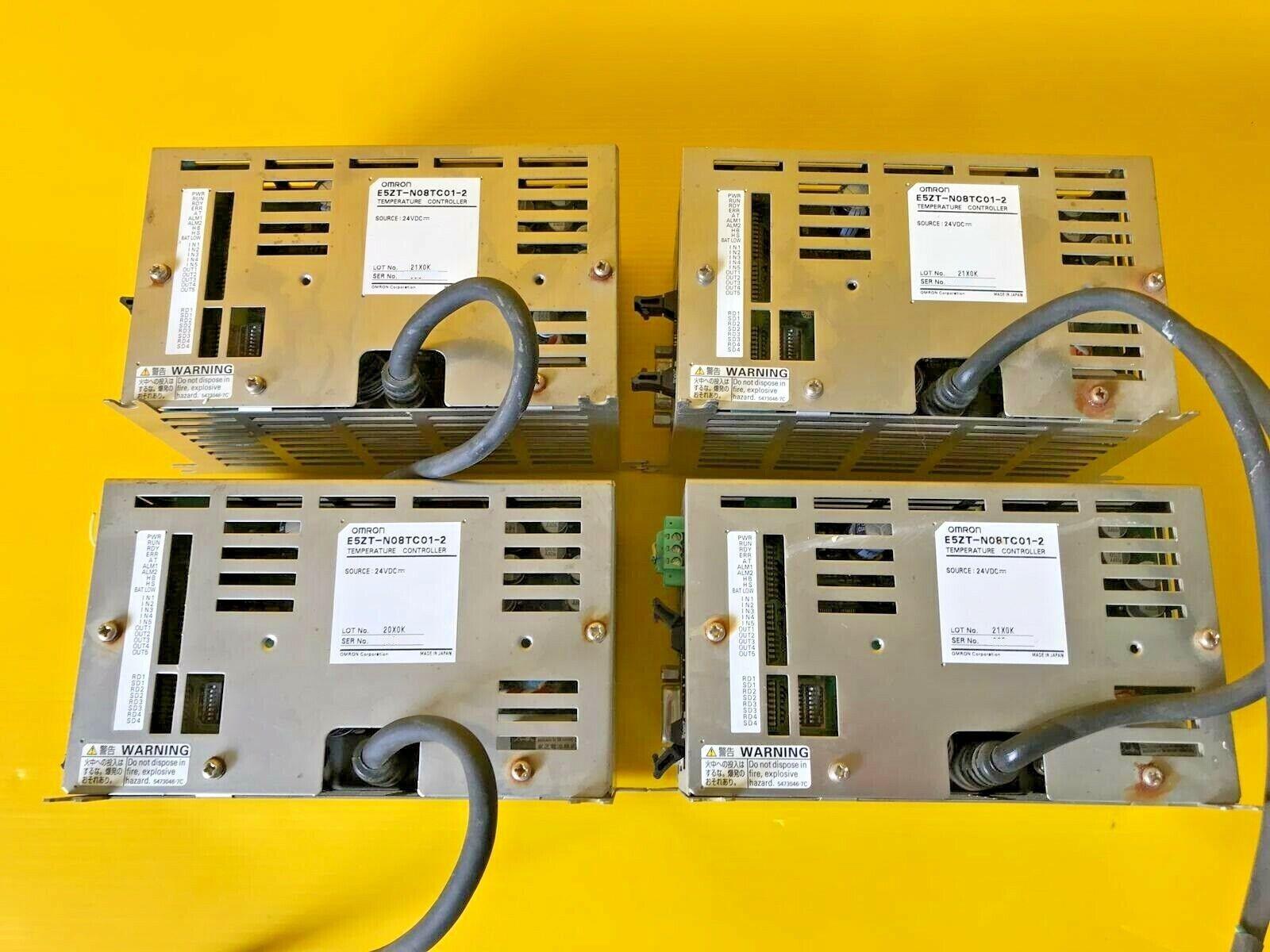 4PCS OMRON E5ZT-N08TC01-2 TEMPERATURE CONTROLLER