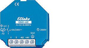 ELTAKO Stromstoßschalter 1S//10A ES61 Doseneinbau 8-230V 2000W