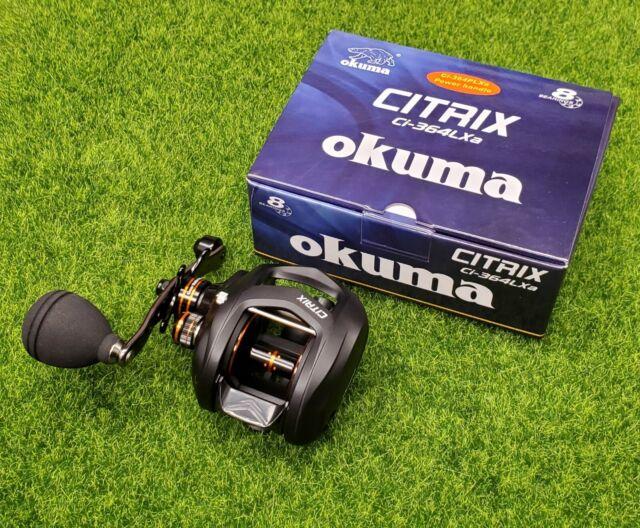 Okuma Ci-364a Citrix A 350 Baitcast Reel Right Hand 7+1BB 6.4:1
