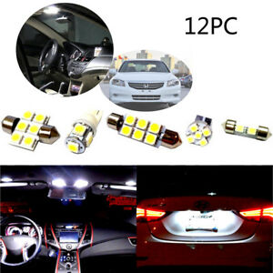 Image Is Loading White Led Interior Lights Package 12pc Kit For