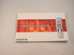 directv plus hd dvr user guide new ebay rh ebay com DirecTV TiVo DVR DirecTV TiVo DVR