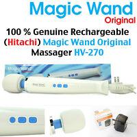 Genuine Rechargeable Hitachi Magic Wand Original - Hv-270 ☆ Full Body Massager ☆