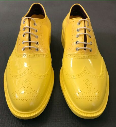 VIVIENNE WESTWOOD BROGUE RUBBER MENS SHOES IN YELL