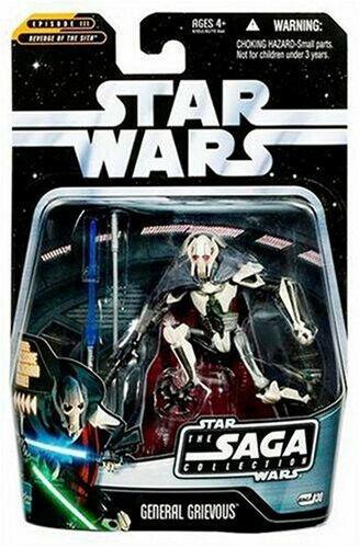 Saga di Guerre Stellari COLLEZIONE  30 la vendetta dei Sith Generale Grievous Action Figure