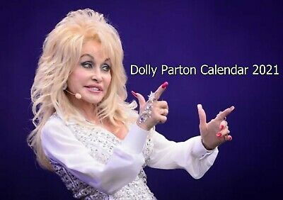Dolly Parton Calendar Desktop A5
