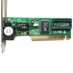 PCI-Realtek-RTL8139D-10-100M-10-100Mbps-RJ45-Ethernet-Network-Lan-Card-Adap-EEC