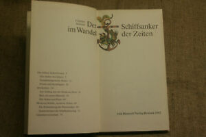 Fachbuch-Anker-Schiffsanker-Geschichte-Bau-Typen-Seefahrt-DDR-1982