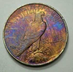 1922-P-Peace-Dollar-Superb-Silver-US-Coin-1-00-Toned-Coin-NO-RESERVE-Price