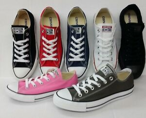 ea1e1c87ae1 CONVERSE Chuck Taylor All Star Low Top Shoes Unisex Canvas Sneakers ...