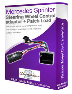 Mercedes Sprinter 2006 a Sony Auto Stereo Volante Interface Adapter Kit