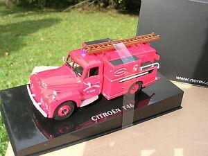 Citroën T46 citerne Pompiers NOREV