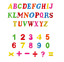 Large-Magnetic-Letters-Alphabet-amp-Numbers-Fridge-Magnets-Toys-Kids-Learning thumbnail 2