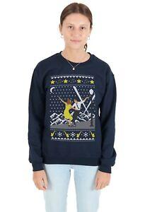 La-La-Christmas-Sweater-Top-Land-Maglione-Felpa-Natale-brutto-Lala-Movie-Film