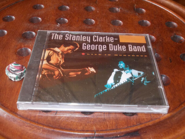 The Stanley Clarke - George Duke Band Live in Montreux  Cd ..... New
