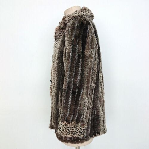 vintage Pelliccia reversibile Giacca donna donna da da wpRARtxqf