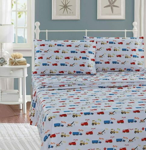 Details about  /Luxury Home Collection Kids//Toddlers//Boys 5 Piece Twin Size Multicolor Comforter