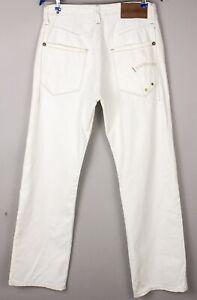 G-Star Brut Hommes Casier Standard Jeans Jambe Droite Taille W32 L32 BBZ164
