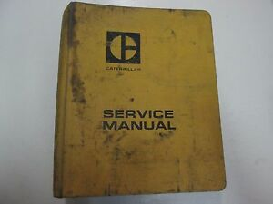 Details about Caterpillar 950 Wheel Loader 3304 3306 Engines Service Manual  SET BINDER STAINS