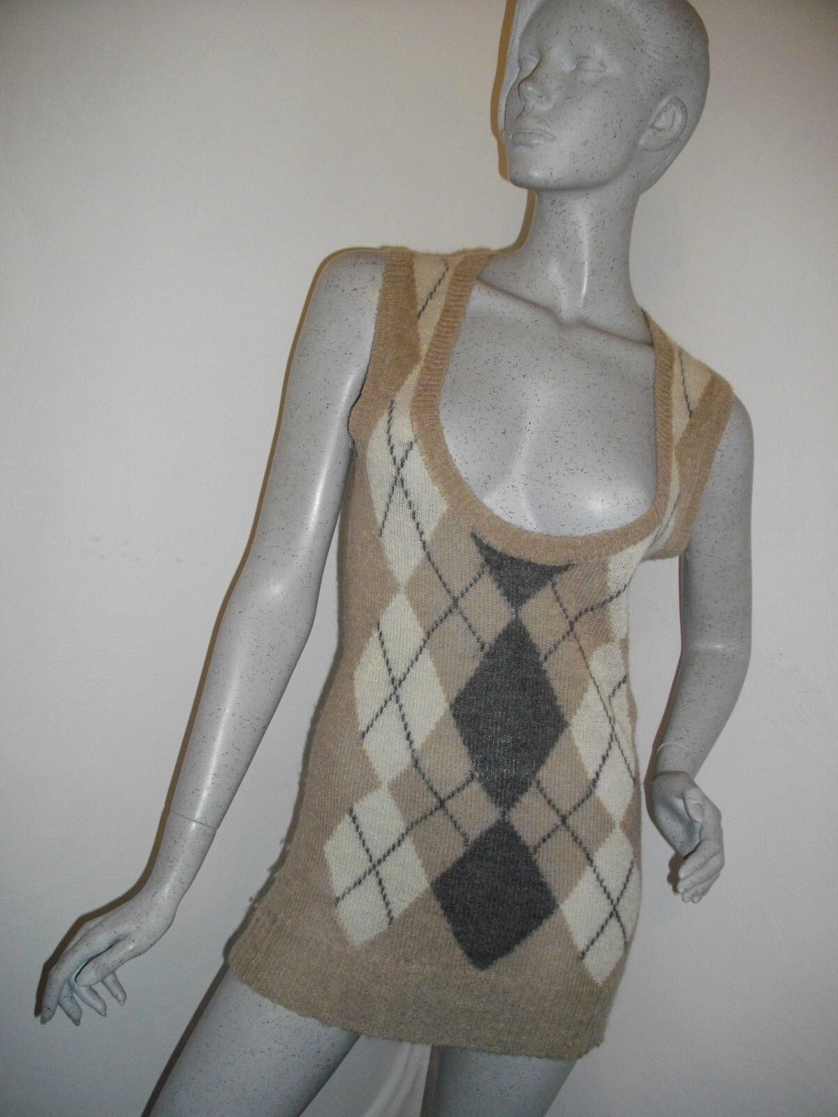 NEW  MARC O'POLO  MOHAIR MIX EXTRA LONG SLEEVELESS TOP   DRESS SIZE S RRP