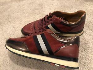 Bally Aston Leather Sneaker Men's Size
