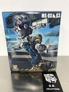 Transformers-Mechanic-Studio-MS-02-amp-MS-03-Pipes-amp-Huffer-New-Sealed