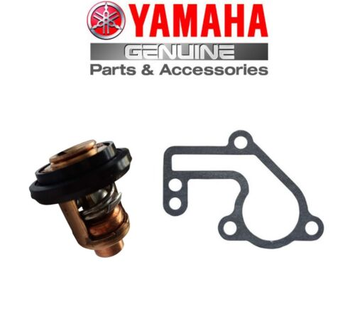 Yamaha Genuine Outboard Thermostat /& Gasket 9.9hp//15hp 2-Stroke 6E5-12411-02