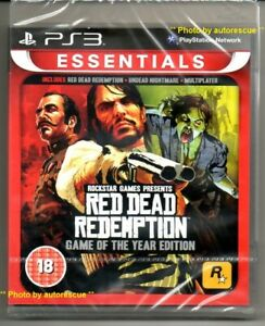 RED-DEAD-REDEMPTION-GAME-of-the-YEAR-Edition-039-New-amp-Sealed-039-PS3
