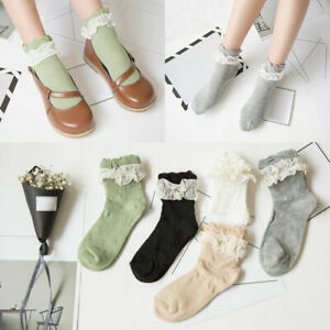 Fishnet Sheer Lace Bows Glitter Frill Fur Damenmode Fancy Ladies Ankle Socks Socken & Strümpfe