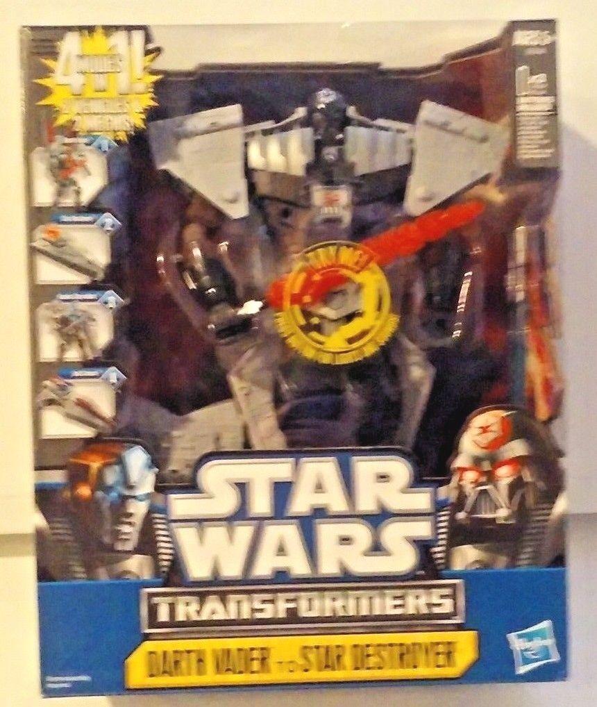 Star - wars - transformatoren 2011 darth vader - zerstörer 4 können neue misb.