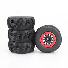 4X 1:10 RC Short Course Model Truck Rubber Tire Tyre Wheel For TRAXXAS SlASH