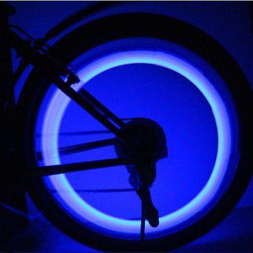 Bicycle Solar Headlight Warn Tail Light Rechargeable Safe Bike Rear Lamp RF