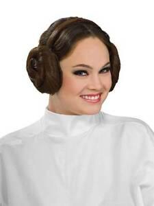 Donna Principessa Leila Chignon Acconciatura Fascia Per Capelli Star Wars Costume Accessorio  </span>