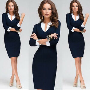 5c3dd02531b Image is loading Women-Lady-Sexy-Bodycon-Bandage-Evening-Cocktail-Party-
